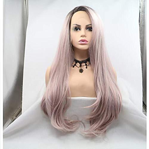 Synthétique dentelle avant perruques femmes's Loose CURL noir Layered coupe de cheveux 130% densité femmes perruque longue dentelle avant,20inch