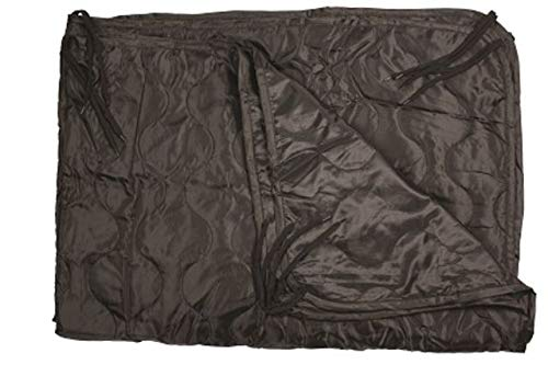 Red Rock Outdoor Gear 900BLK G.I.-Style Poncho Liner Black