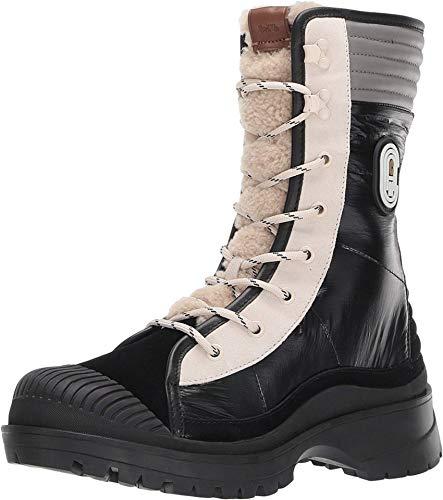 COACH Womens Sidney Bootie Met NY Casual Winter Boots Black 6 Medium (B,M)