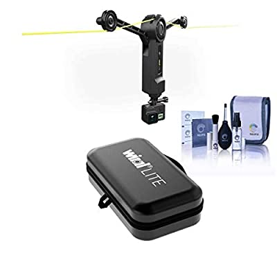 Wiral LITE Motorized Cable Camera Motion Control System for GoPro, Cameras and Smartphones with Wiral Premium Travel Hardcase from Wiral