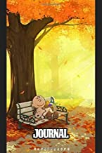 Journal: Snoopy Charlie Brown's The Peanuts Comic Strip Pet Beagle Dog House Daily Creative Paper for Taking Notes, Writing Workbook for Teens & Children School Journal Paper 6 x 9 Inches 110 Pages