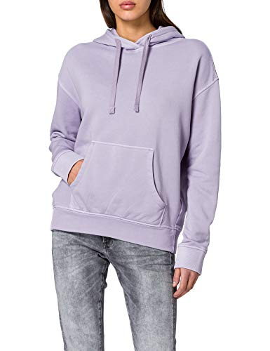 edc by ESPRIT Damen 011CC1J306 Sweatshirt, 560/LILAC, S