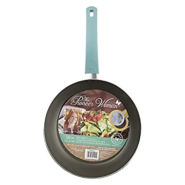Pioneer Woman Butterfly Themed Turquoise Fry Pan