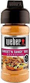 Weber Grill Seasoning Sweet'N Tangy BBQ - 3 oz