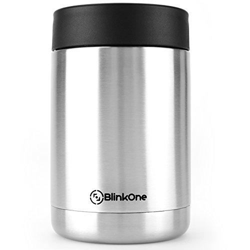 BlinkOne Can Cooler: Stainless Steel Beverage Bottle Insulator Holder...