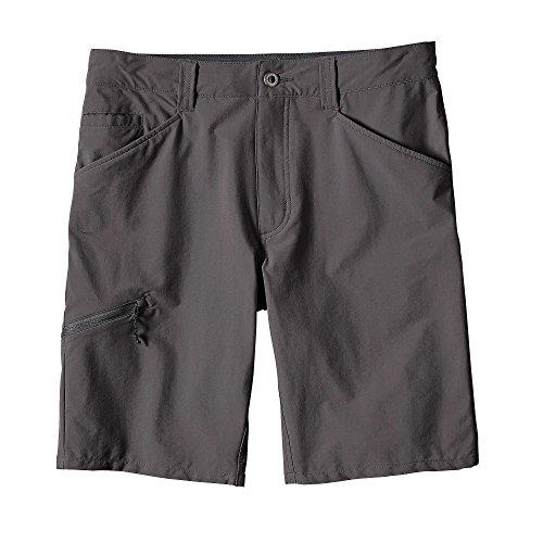 Patagonia Quandary Sr Shorts für Herren L Grau (Forge Grey)
