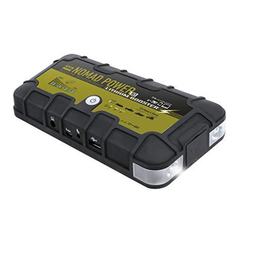 GYS GYS-026384-NOMAD Nomad Power 10-Booster LITHIUM-12V-LIVRE avec Tous Les Cables ET CONNECTEURS