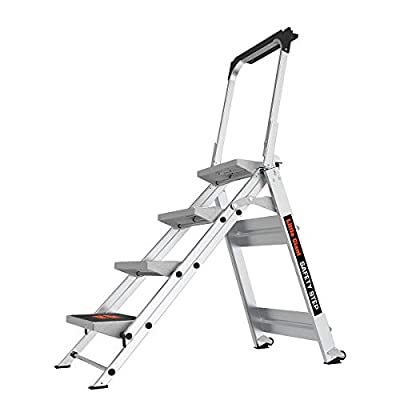 Little Giant Little Jumbo Safety Ladder with Bar