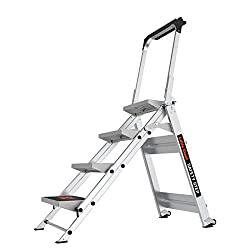 Little Giant Safety Step Ladder with Bar