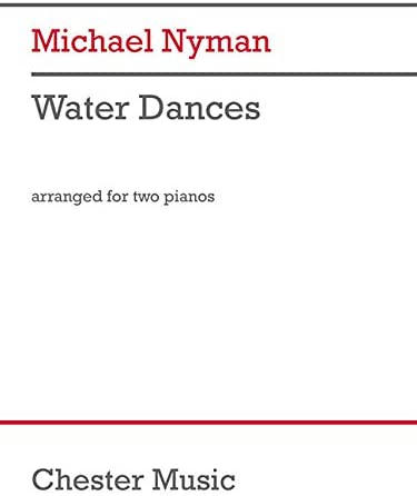 Water Dances arranged for 2 Pianos 4 Hands Score and Parts product image