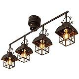ラントレ Lantre 天井照明 バーライト 4灯 アンティークブラック