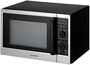 DAEWOO KOC154K – Horno microondas con rejilla – 42 litros – 950 W – Acero inoxidable