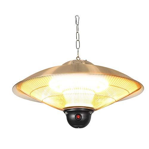 """JLL 23"""" Electric Patio Infrared Outdoor Ceiling Heater Indoor Tent Hanging Garden"""