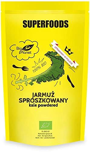 JARMUŻ SPROSZKOWANY BIO 125 g - BIO PLANET