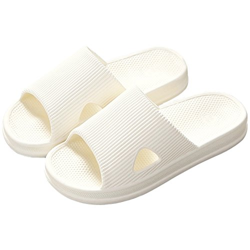 Anddyam Women and Men Bath Slippers Shower Anti-Slip Indoor Home Bathroom House Sandals