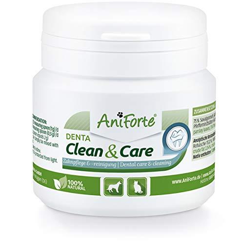 AniForte Denta Clean & Care Zahnpflege Pulver für Hunde & Katzen - zahnpflege Hunde, zahnsteinentferner Hund, Hunde zahnpflege, Hund zahnpflege, zahnpflege Hund, zahnreinigung Hund, zahnpflege Katzen