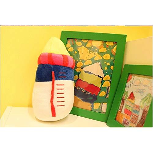NYKK Muñeco de Peluche Juguete Relleno Felpa del bebé Botella de la Forma Abrazo Almohadas súper Blando Cojines del sofá Inicio Decoraciones Regalos for los niños Grande Medio Trompeta muñeco