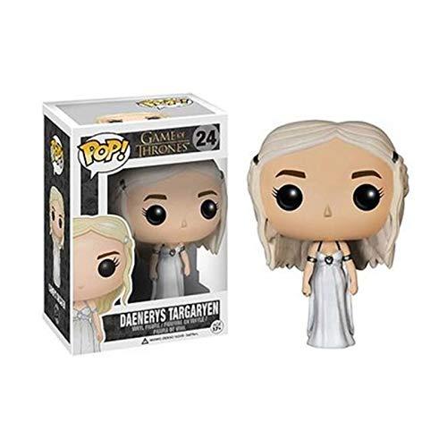 DUYUJIE Funko Pop Juego de Tronos Temporada 8: Muñeca Daenerys Targaryen Modelo de Adornos Hechos a Mano Colección de Figuras