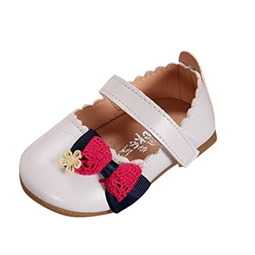 Alikeey Prinsessenschoenen voor kinderen, voor baby's, meisjes, elegant, met strik, eenheidssandalen, lint, voor feestjes, bruiloften, zomers, antislip, comfortabel, licht, schattig