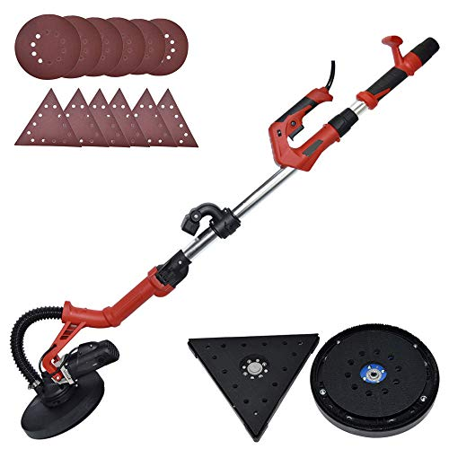 Dual-Head Automatic Vacuum Sander for Walls