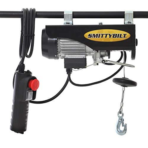 Smittybilt 510001 Hard Top Hoist for Jeep CJ/YJ/TJ/JK,Black