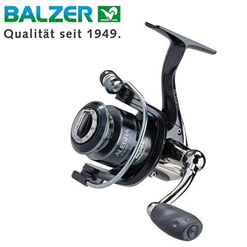 Balzer Alegra Micro Spin 518 - Angelrolle zum Ultra Ligt Angeln, Stationärrolle zum leichten Spinnangeln auf Barsche & Forellen