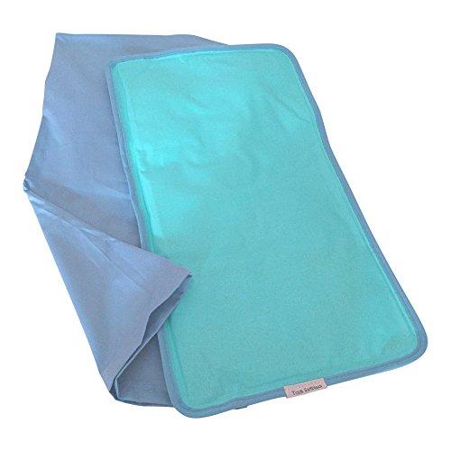 Enfriador de almohadas Your Sandman: la Almohada de Gel de Enfriamiento Grande en funda de almohadas para proporcionar un Mejor Descanso, aliviar la migraña, menopausia, sudores nocturnos y sofocos