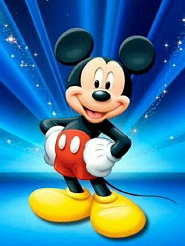 5D full Square Diamond Embroidery Mickey mouse Diy Diamond Painting Cross Stitch cartoon Disney Home Decorative Crafts...
