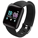Generic M5 Plus Bluetooth Smart Fitness Band (Upto 8 days Battery Life_Compatible with Xiaomi, Oppo, Vivo Mobile_Wireless)