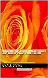 Decorar con Flores de Rosas Naranjas Fotografía Grace Divine impresiones de arte en un libro