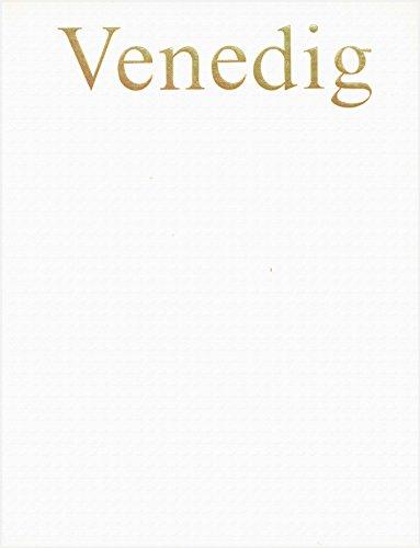 Venedig und Umgebung. Eingeleitet und zusammengestellt von Niels von Holst. Großbildband. Deutsch/English/Français