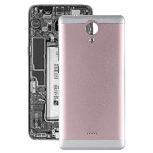 Beilaishi Handy-Reparatur-Set für Wiko U Feel, Akkudeckel mit Seiten-Skys (schwarz) Ersatzteil (Farbe: Silber)