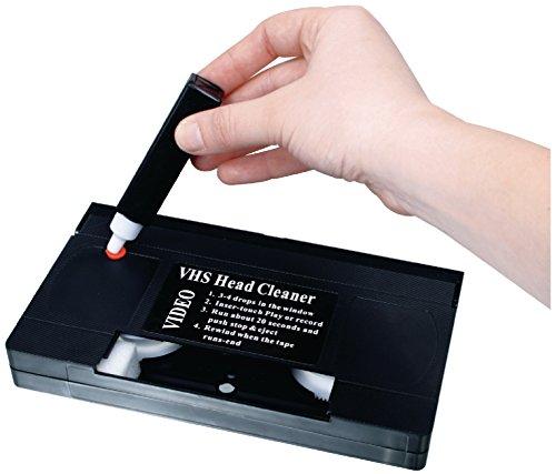 Profi VHS Reinigungscassette für Aufnahme und Wiedergabeköpfe Reinigung Kassette Set