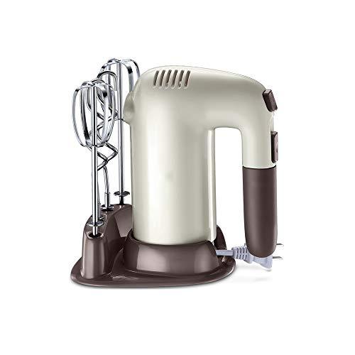 SHYOD Práctica herramienta de cocina, batidora de café con leche, batidora, batidora eléctrica para huevos, espumador, mango, agitador, cocina, giratoria de huevos