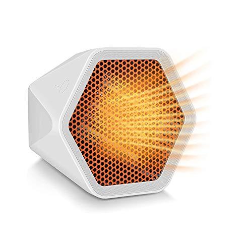 SJTL Calefactor Electrico, Cerámico Oscilación Automática y Función Silenco Calefacción 2 Modos...