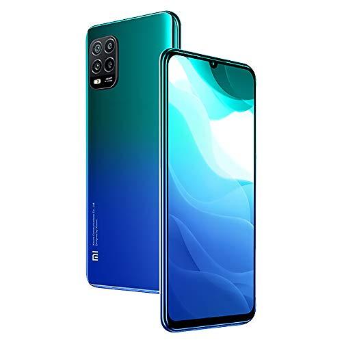 Xiaomi Mi 10 Lite Smartphone,6GB RAM 128GB ROM Teléfono,6.57' AMOLED Pantalla Luz Azul Baja Qualcomm Snapdragon 765G 5G Procesador Versión Global (Azul)