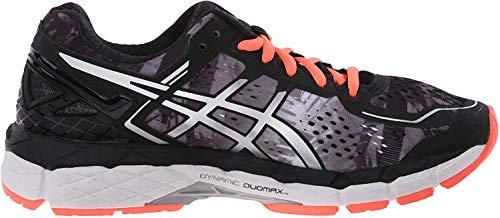 ASICS Women's Gel Kayano 22 Running Shoe, Black/Flash...