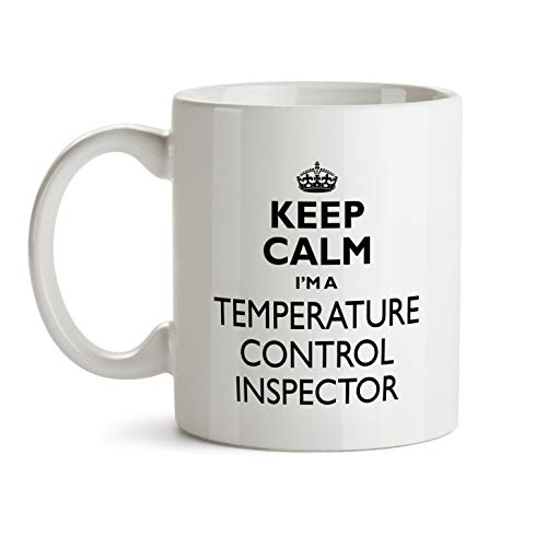 Temperature Control Inspector Gift Mug - Keep Calm Best Ever Coffee Cup Colleague Co-Worker Thank You Appreciation Present