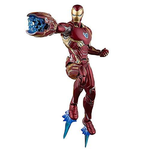GFFTYX The Avengers 3 Unendlicher Krieg SHF Desperate Iron Man Mk50 Beweglich Höhe 16cm Sammlungsmodell