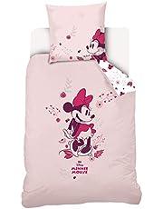 Minnie Mouse Dekbedovertrek Set 140 x 200 cm 100% Katoen