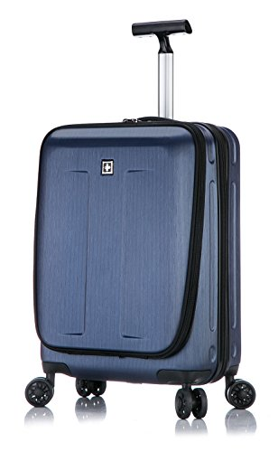 Fribourg Hardside 20'' Premium Carry On Spinner Luggage - Dark Blue
