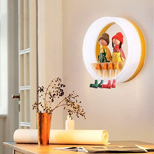 Lámpara De Pared De Marionetas De Dibujos Animados