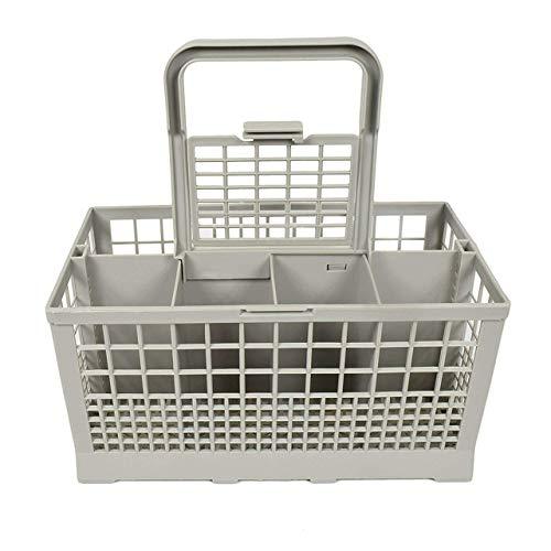 Easyeeasy Cesta universal para cubiertos para lavavajillas compatible con Kenmore, Whirlpool, Bosch, Maytag, KitchenAid, Samsung, GE y más