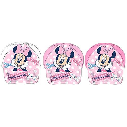 Casquette bébé Minnie Disney assortie.