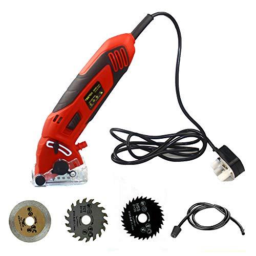 Mini Circle Saw 400W Multi Function Mini Circular Saw Hand Held Tool...