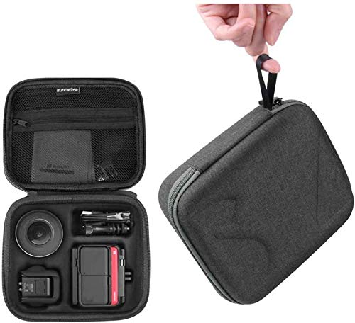 Hensych Hard Carrying Case Travel Case Storage Bag for Insta360 ONE R and Accessories