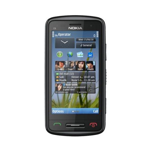 Nokia C6 8,13 cm (3.2') SIM singola Nero, Grigio, Argento 1050 mAh