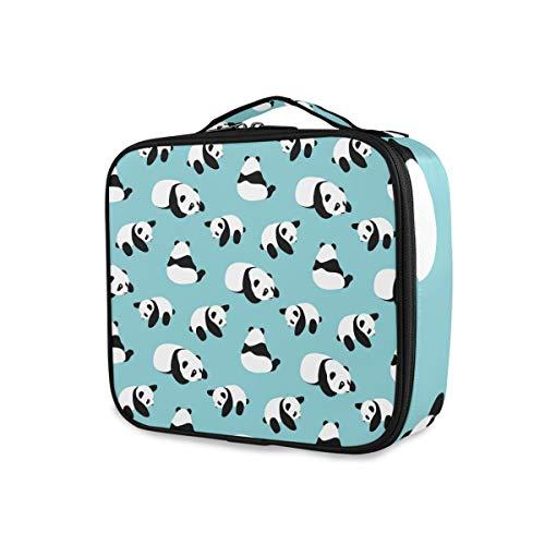 Outils Cosmétique Train Case Mode Voyage Stockage Maquillage Sac Portable Trousse De Toilette Panda Bear Cartoon