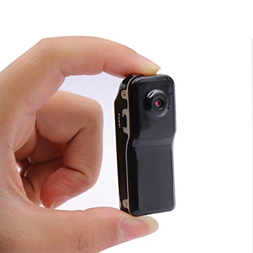 QEBIDUL MD80 Mini DV DVR Camera Camcorder Video Recorder for Webcam Helmet Bike Motorbike Hiking Sports