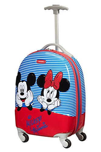 Samsonite Disney Ultimate 2.0 - Spinner XS Valigia per Bambini, 46.5 cm, 20.5 L, Multicolore (Minnie/Mickey Stripes)